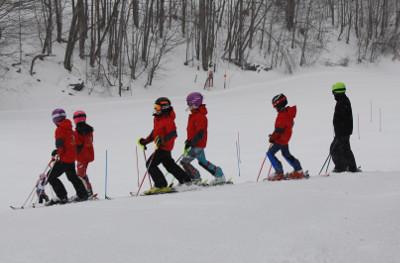 Race Team Kids lined up