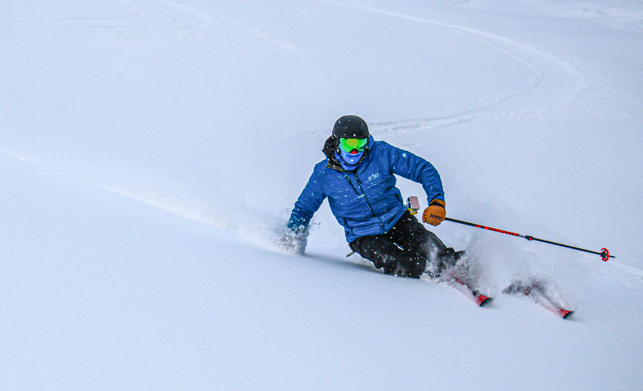 Find out what the skiing is like today