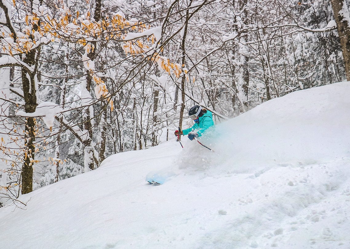 Powder chick photo by James Rauch