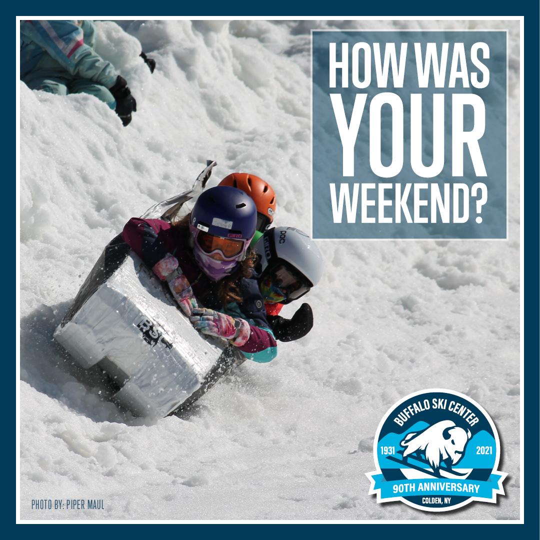 Buffalo Ski Center Box Race